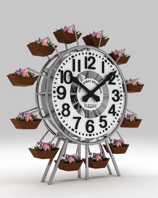 Çiçekli Meydan Saati
